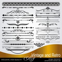 Vector Creative Design Elements, Luxury Vintage Ornaments