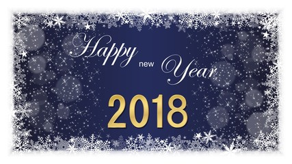 2018. Happy New Year