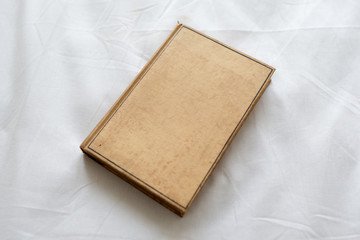 old brown book hardcover
