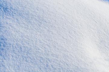 fresh snow as background