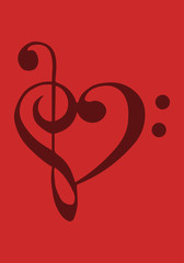 Music love background