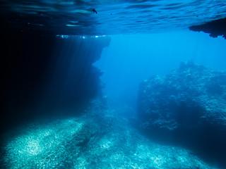 Fonds marins à Majorque