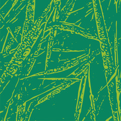Grass vector texture for creation of banners and abstract organic backgrounds and patterns.