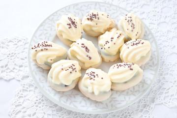 Vanilla- Kekse mit Füllung