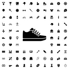 Trainer icon. set of filled sport icons.