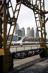 Puente de la Mujer Puerto Madero Buenos Aires Argentina