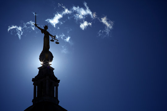 The Old Bailey Lady Justice Statue