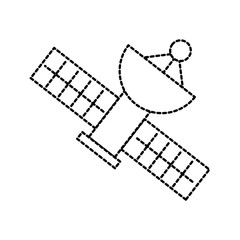 satellite icon broadcasting space network