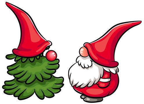 Neugierige Weihnachtswichtel Mit Kreul Window 6