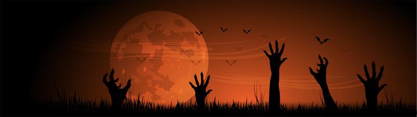 Halloween, alberi, zucche, paura, tutti i santi