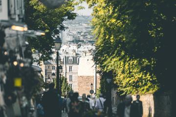 Streets around Montmartre - Paris