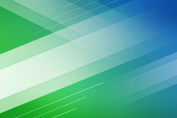 Blue and green background of abstract with white line square cross wave line overlay. Green technology abstract background style.