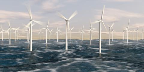 Parc éolien marin