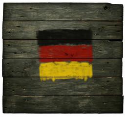 Wall Mural - deutsche flagge