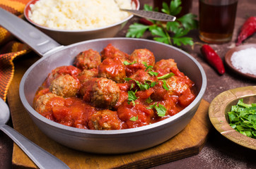 Traditional spicy meatballs