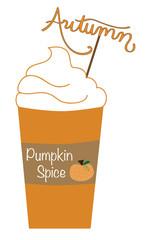 Pumpkin Spice Autumn Latte
