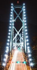 Fantastical Lights On A Bridge