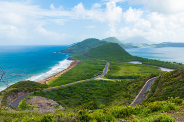 Saint Kitts, Nevis, the Caribbean
