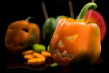 Pimientos Halloween