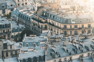 Evening Light over the City of Paris - Paris