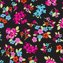 wallpaper seamless flower pattern