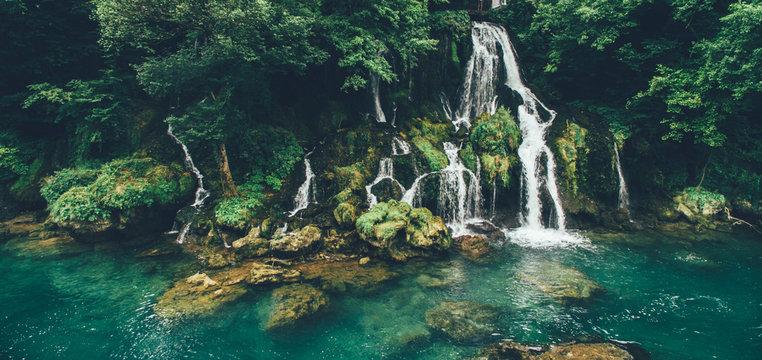 River Vrelo waterfall & Drina river