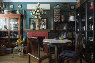 Vintage Peranakan (Straits Chinese) home