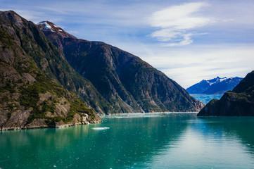 Sailing Tracy Arm Fjord to Sawyer Glacier, Alaska