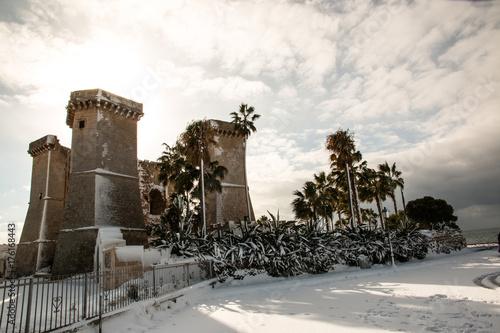 Quattro colonne near Santa Maria al Bagno\