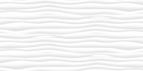 Line White texture. Gray abstract pattern surface. Wave wavy nature geometric modern. On white background. Vector illustration