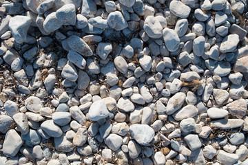 Spiaggia di ciottoli in Sardegna Su Portixeddu