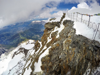 Mont Blanc and Chamonix, personal perspective view