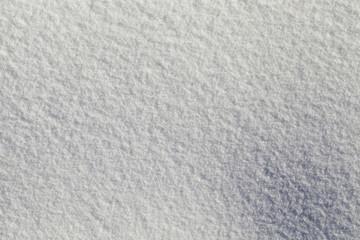Photo snow, close-up