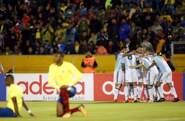 Soccer Football - 2018 World Cup Qualifiers - Ecuador v Argentina
