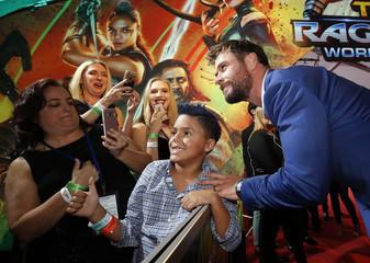 World Premiere of Thor: Ragnarok - Los Angeles -11/10/2017