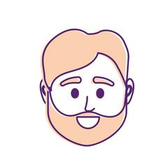 avatar man head to social user