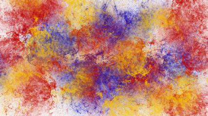 Abstract splash