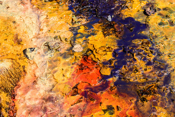 Abstract Background of Liquid Graphic Texture. Photo Color Background.
