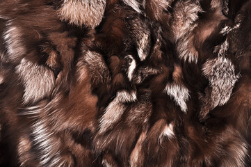 Natural fur texture