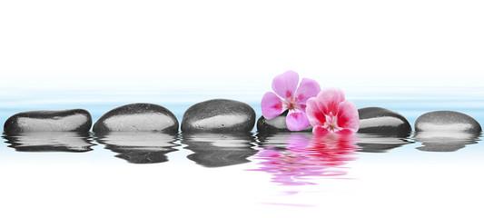 piedras sobre agua