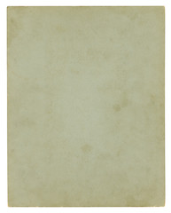 Antique paper background - clipping path included