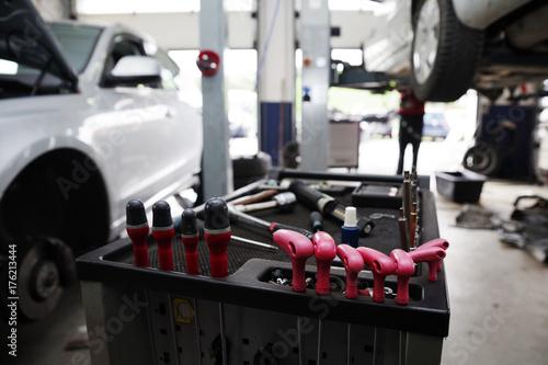 Auto Ewig In Der Werkstatt
