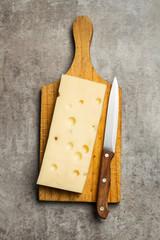 Tabla con queso