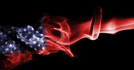 America, usa, national smoke flag