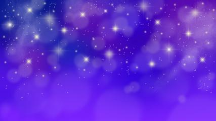夜明け前の満天の星空