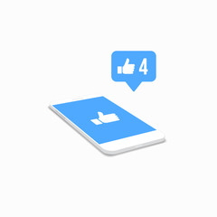 Phone Likes Icon