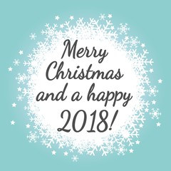Merry Christmas and a happy 2018