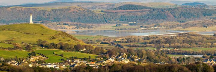 Ulverston, Cumbria - Panorama Fototapete
