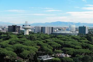 Panorama dall'Eurosky Tower di Roma