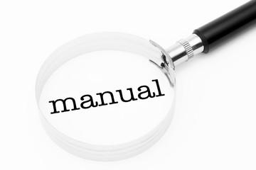 Manual in the focus